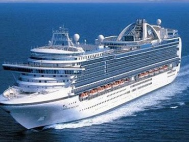 Nave da Crociera Princess Cruises