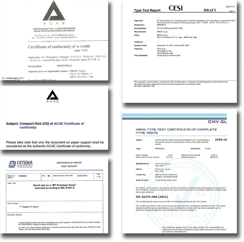 certificati_imesa_2018